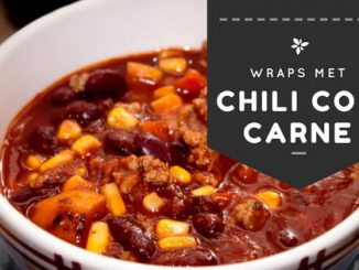 wraps met chili con carne